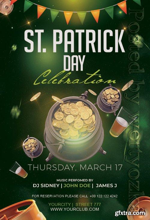St Patricks Day2 - Premium flyer psd template