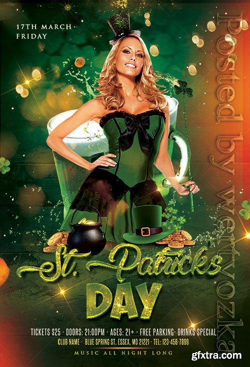 St Patricks Day - Premium flyer psd template