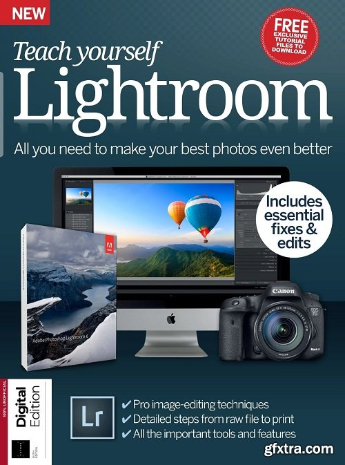 Future's Series: Teach Yourself Lightroom 6th Edition, 2020