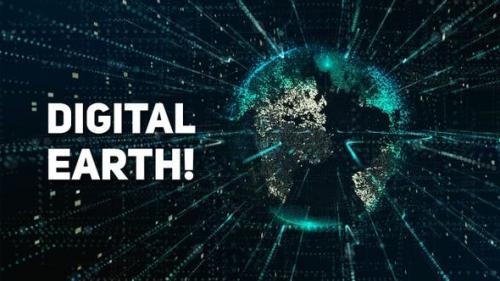 Videohive - Digital Earth Pack