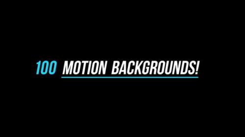Videohive - 100 Backgrounds - 4K