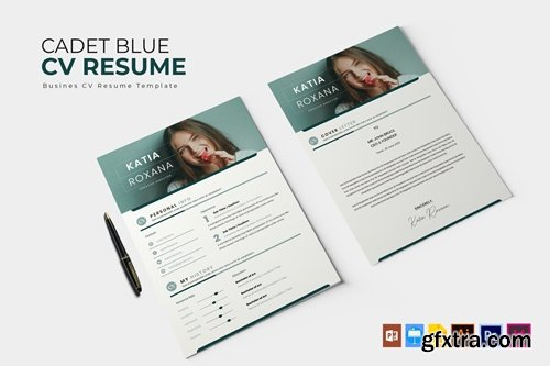 Cadet Blue | CV & Resume