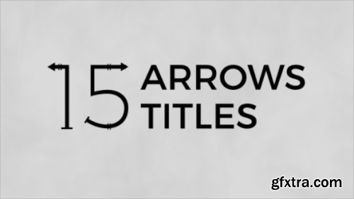 Videohive Arrows Titles 1435947