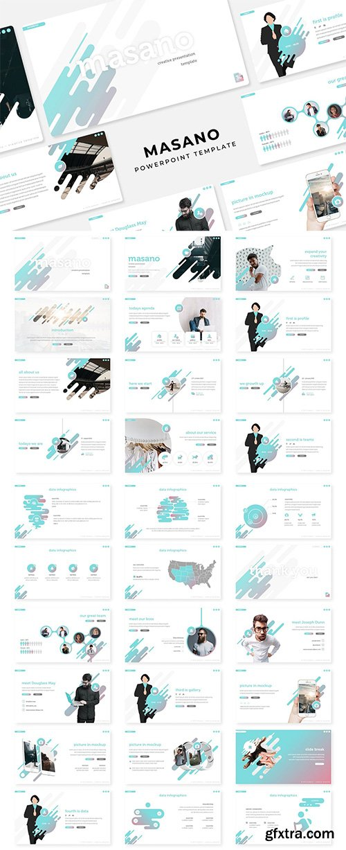 Masano - PowerPoint, Keynote and Google Slides Template