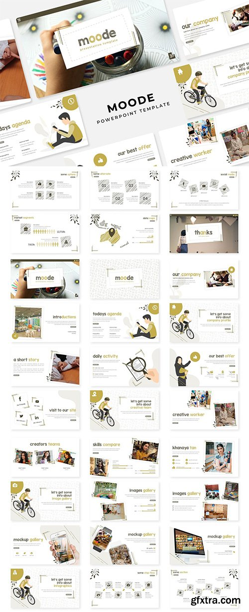 Moode - PowerPoint, Keynote and Google Slides Template