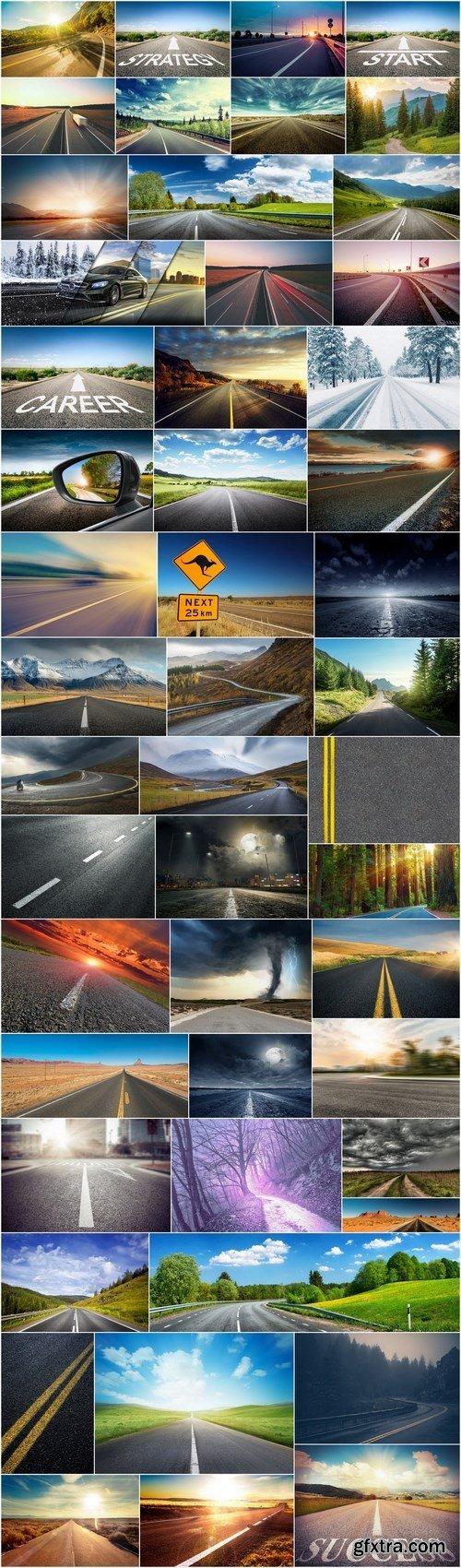 Roads and highway - 50xUHQ JPEG