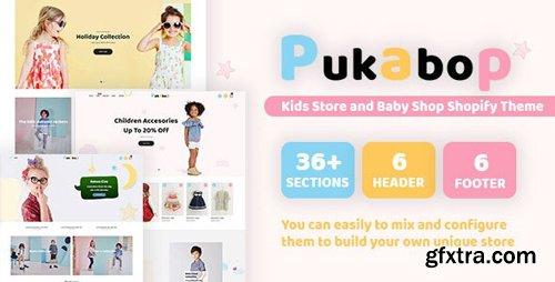 ThemeForest - Pukabop v1.0.0 - Kids Store and Baby Shop Shopify Theme - 25061723