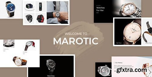 ThemeForest - Marotic v1.0.0 - Minimal Clean Watch Store Shopify Theme - 25393530