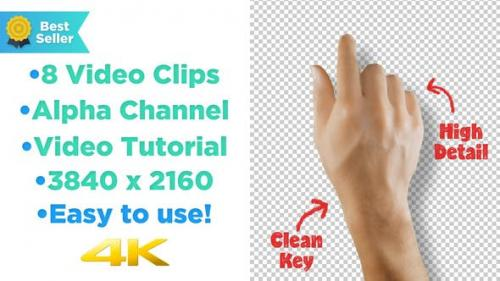Videohive - Hand Touch Screen Gestures