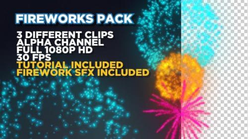 Videohive - Fireworks Pack