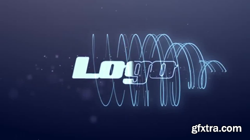MotionArray Neon Lines Logo 22679