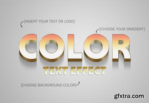3D Text Style Psd Bundle 3