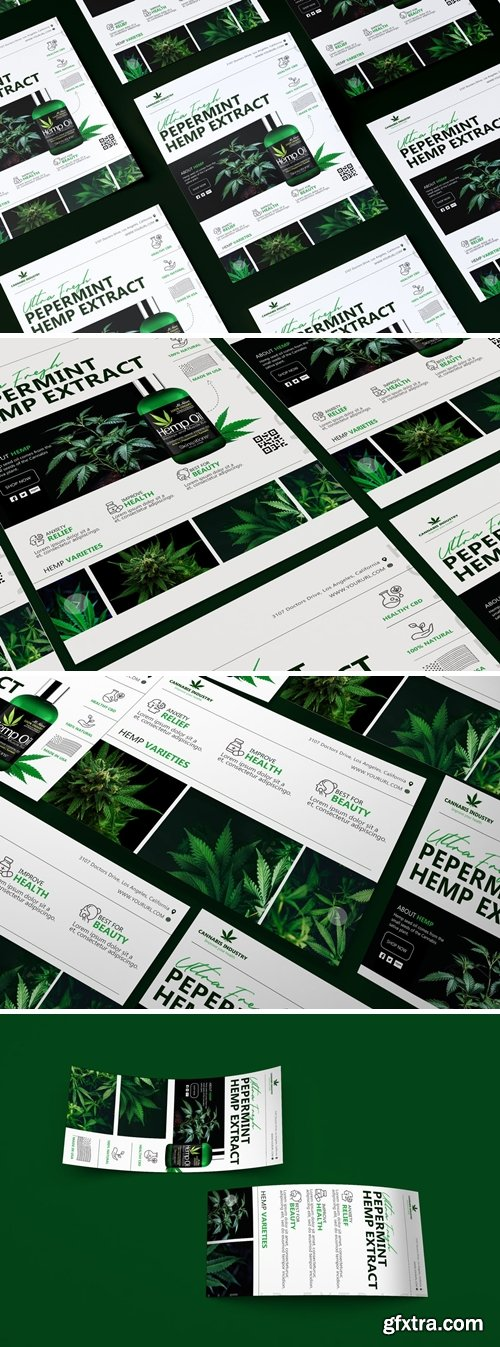 Hemp Product Graphic Pack