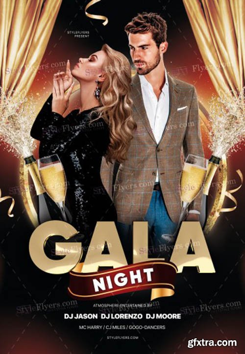 Gala Night V1502 2020 PSD Flyer Template