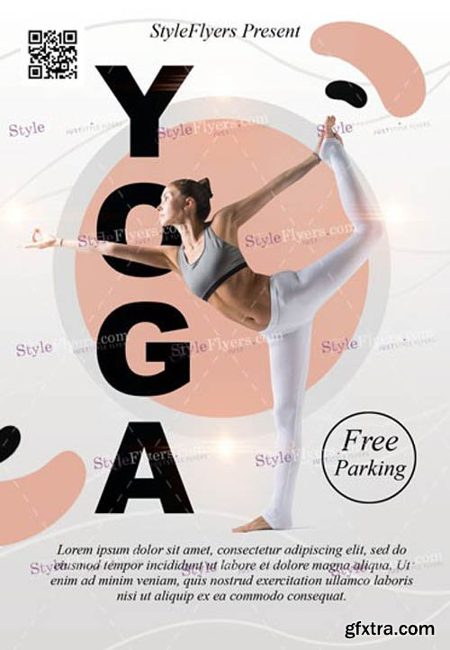Yoga V1502 2020 PSD Flyer Template