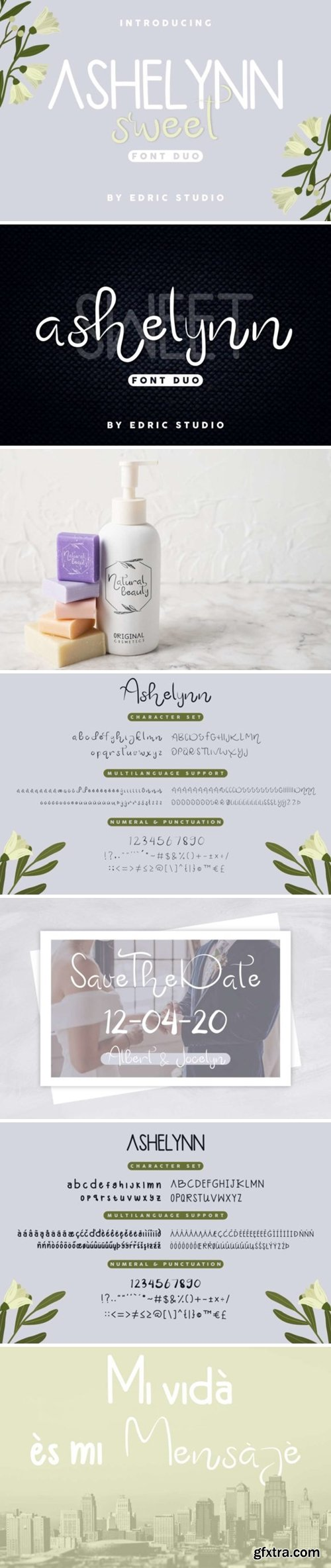 Ashelynn Duo Font