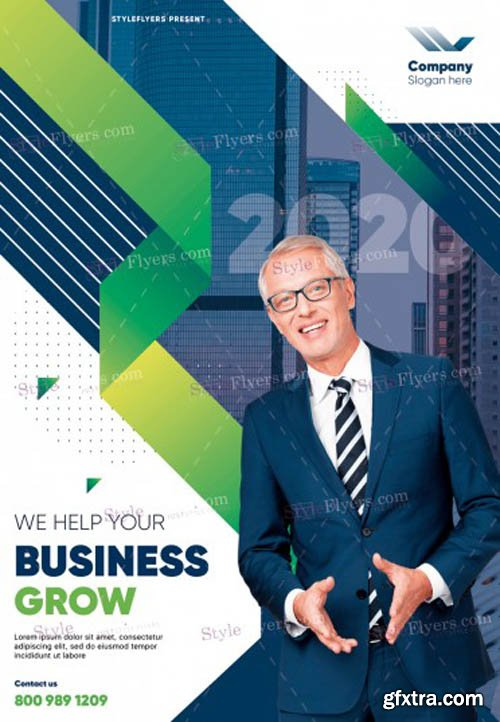 Business V1502 2020 PSD Flyer Template