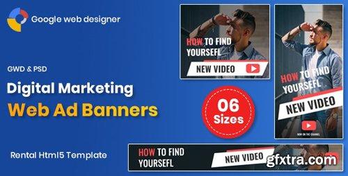 CodeCanyon - Digital Marketting Banners GWD v1.0 (Update: 18 February 20) - 24054646