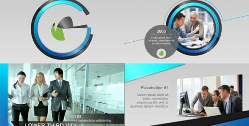 Videohive - Corporate Display and Timeline II