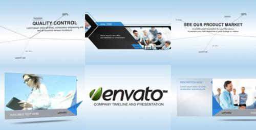 Videohive - Corporate Display and Timeline