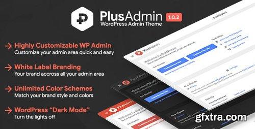 CodeCanyon - PLUS Admin Theme v1.0.2 - WordPress White Label Branding Admin Theme - 24176235
