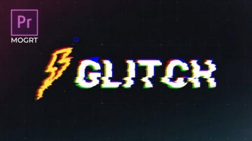 Videohive - Glitch Logo Premiere Pro MOGRT