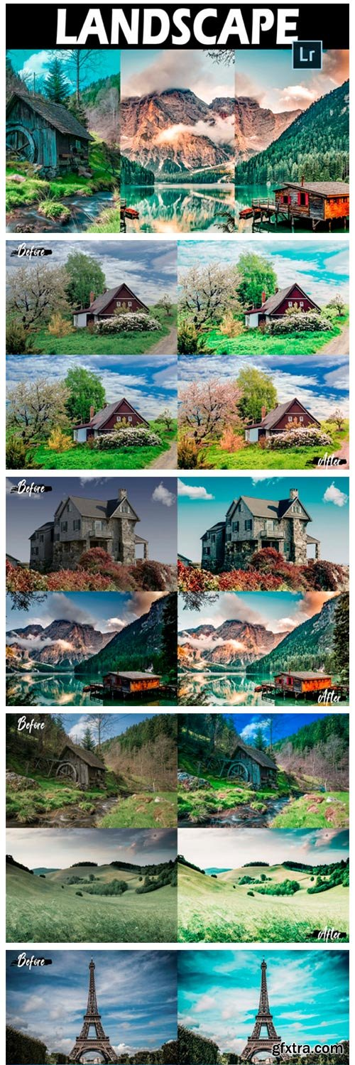 25 Landscape Lightroom Presets 2960987