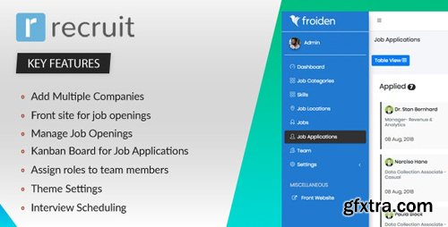 CodeCanyon - Recruit v2.2.0 - Recruitment Manager - 22336912 - NULLED