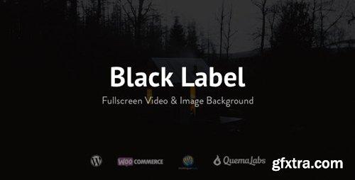 ThemeForest - Black Label v4.0.14 - Fullscreen Video & Image Background - 336949