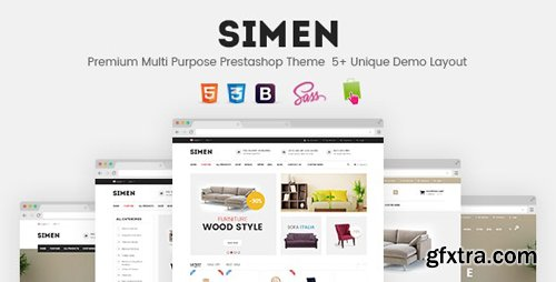 ThemeForest - SNS Simen v1.1 - Responsive Prestashop Theme - 13464109