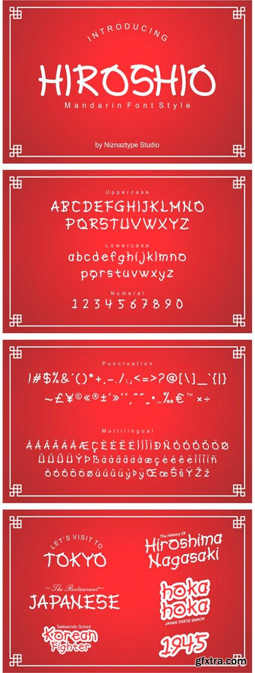 Hiroshio Font