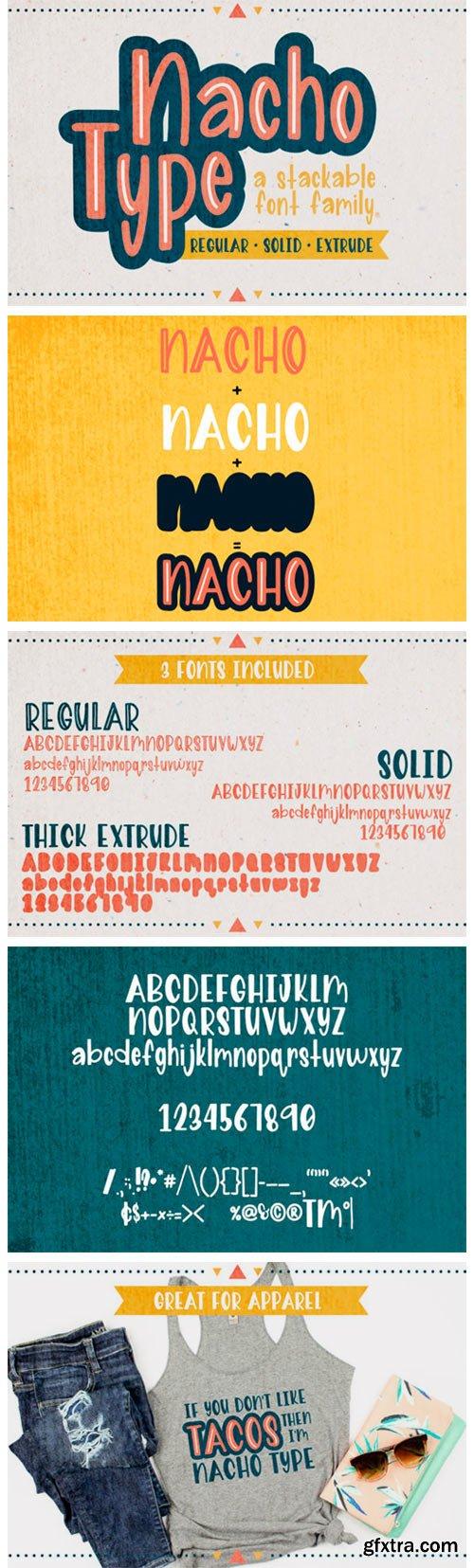 Nacho Type Font