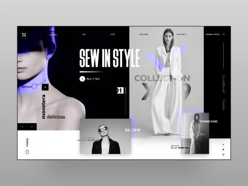Women Fashion Landing Page Concept - women-fashion-landing-page-concept