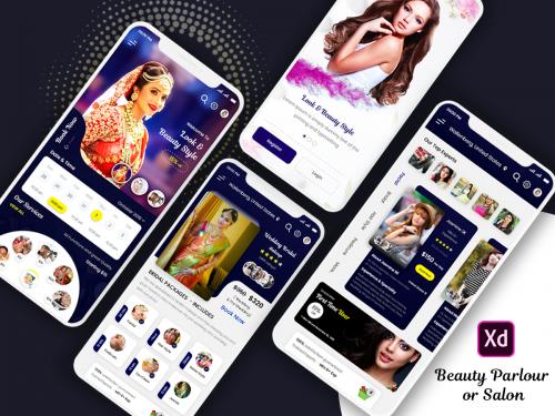 Womens Beauty Parlour or Salon Mobile App Design - womens-beauty-parlour-or-salon-mobile-app-design
