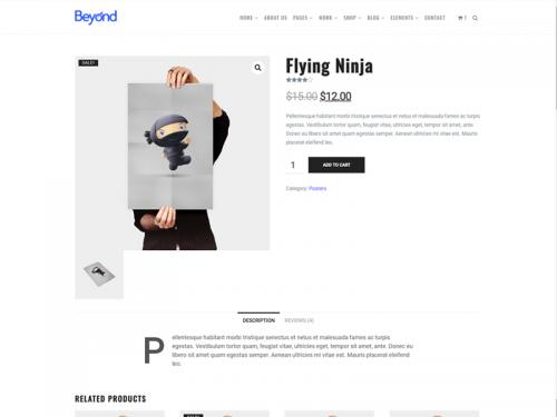 WooCommerce Product - Beyond WordPress Theme - woocommerce-product-beyond-wordpress-theme