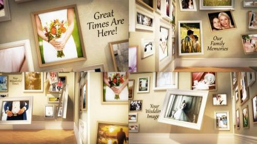 Videohive - Wedding Family Wall Gallery