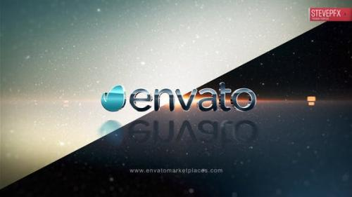 Videohive - Simple Dark and Light Logo Reveal