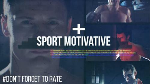 Videohive - Sport Motivative // Dynamic Glitch