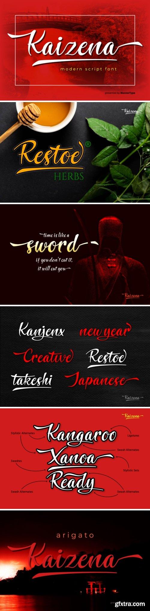 Kaizena Font