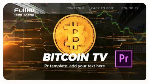 Videohive - Bitcoin Trading Opener | Premiere Pro