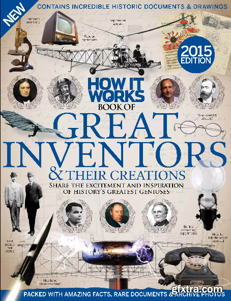 How It Works - Book of Great Inventors & Their Creations 2015 Edition