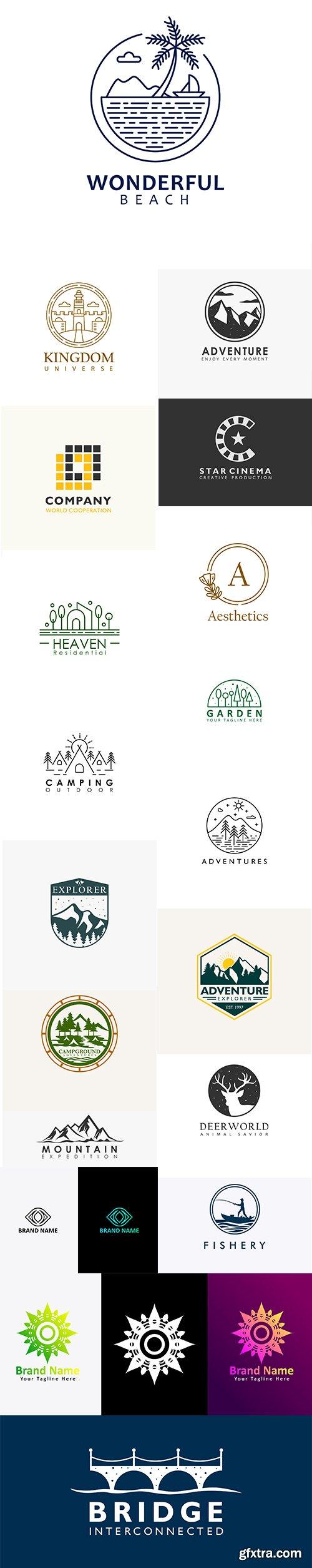 19 Vector Logo Template