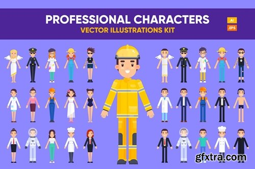 Professional Characters Kit