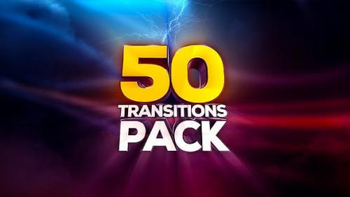 Videohive - Transitions Pack