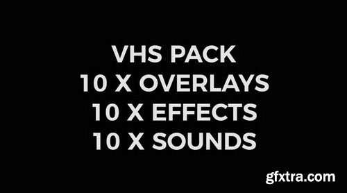 Vamify - VHS Overlay Pack
