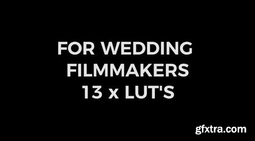 Vamify - LUT Pack for Wedding Filmmakers