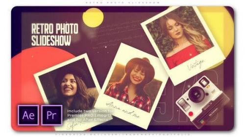 Videohive - Retro Photo Slideshow