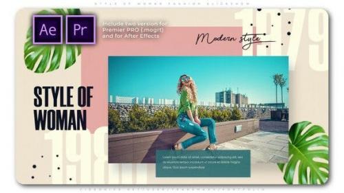 Videohive - Style of Woman Fashion Slideshow