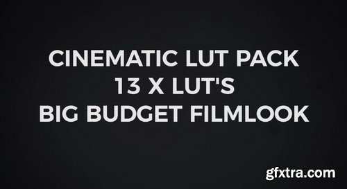 Vamify - Cinematic Lut Pack