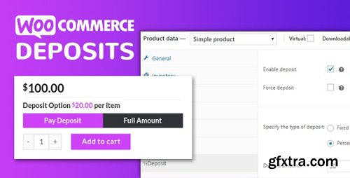 CodeCanyon - WooCommerce Deposits v2.5.22 - Partial Payments Plugin - 9249233